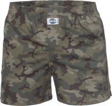 D.E.A.L International Boxerky \'Camouflage\' khaki