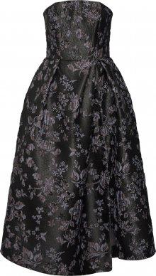 Closet London Společenské šaty \'Closet Gold Strapless Dress\' tmavě šedá