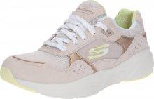 SKECHERS Tenisky \'Meridian\' béžová / růžová / bílá