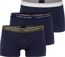 Tommy Hilfiger Underwear Boxerky \'3P WB TRUNK\' modrá / šedá / olivová