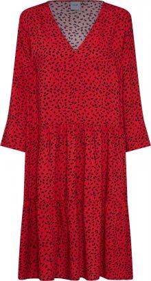ICHI Šaty \'VERA\' červená