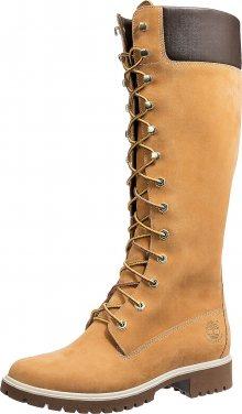 TIMBERLAND Šněrovací boty zlatě žlutá