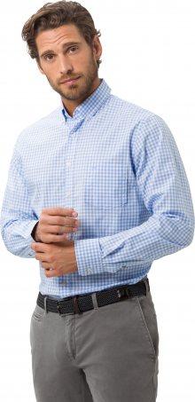 BRAX Košile \'dries\' světlemodrá / bílá