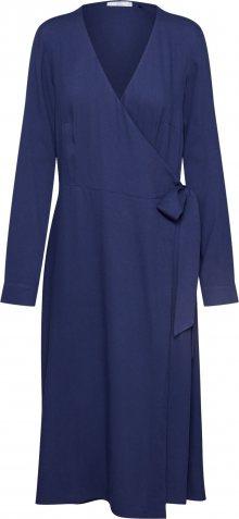 EDC BY ESPRIT Šaty \'Wrap dress\' námořnická modř