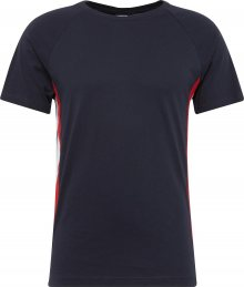 Urban Classics Tričko červená / černá / bílá