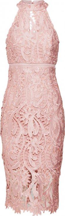 Bardot Koktejlové šaty růžová
