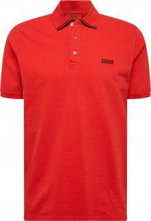 HUGO Tričko \'Dyler\' červená