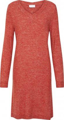 VILA Šaty červená