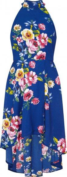 Mela London Letní šaty královská modrá / mix barev / pink