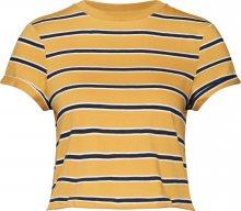 ABOUT YOU Tričko \'Alexis\' námořnická modř / žlutá