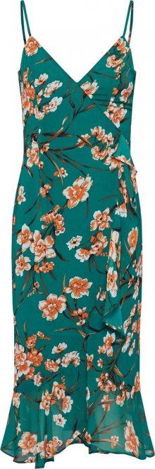 Bardot Letní šaty \'MALIKA FLORAL DRESS\' zelená
