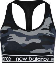 New Balance Sportovní podprsenka \'NB PACE BRA PRINTED 2.0\' černá