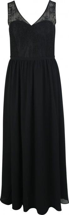My Mascara Curves Společenské šaty \'CLASSIC LACE\' černá