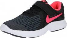 NIKE Sportovní boty \'Revolution 4\' korálová / černá