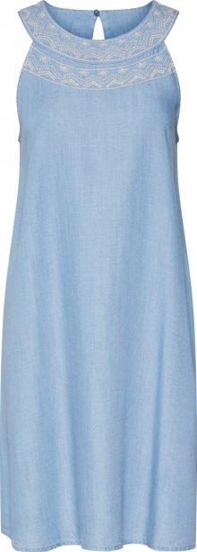 EDC BY ESPRIT Šaty světlemodrá / modrá džínovina