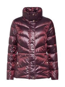 Lauren Ralph Lauren Přechodná bunda \'MTL PACKABLE-JACKET\' vínově červená