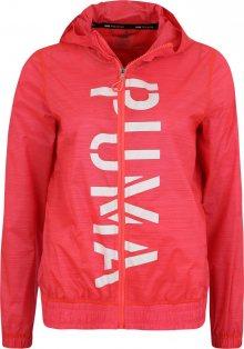 PUMA Sportovní bunda \'Be Bold Graphic\' pink / bílá