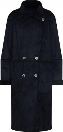 VILA Přechodný kabát \'SHERLING\' černá