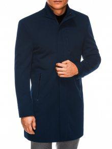 Ombre Clothing Jedinečný granátový elegantní kabát c430