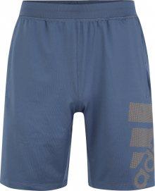 ADIDAS PERFORMANCE Sportovní kalhoty kouřově modrá