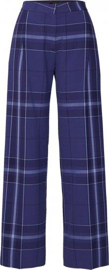 2NDDAY Kalhoty se sklady v pase \'Anya\' modrá