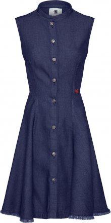 G-Star RAW Košilové šaty \'Bristum\' modrá