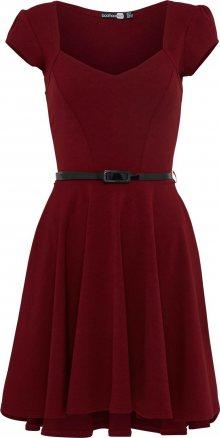 Boohoo Šaty \'Lara\' červená