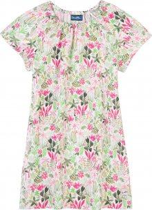 Sanetta Kidswear Šaty mix barev / bílá