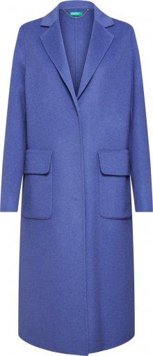 UNITED COLORS OF BENETTON Přechodný kabát chladná modrá