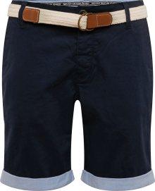 Review Chino kalhoty \'CHINOROLLUPSTRET\' námořnická modř