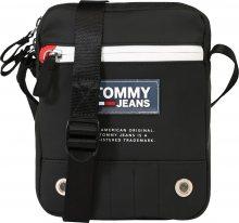 Tommy Jeans Taška přes rameno černá