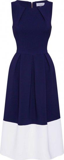 Closet London Šaty námořnická modř / bílá