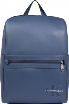 Calvin Klein Jeans Batoh \'Smooth Monogram Minimalist BP 40\' modrá