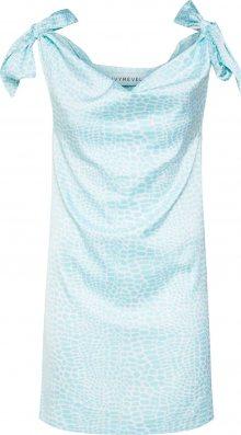 IVYREVEL Letní šaty světlemodrá / bílá
