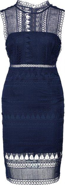Bardot Koktejlové šaty modrá