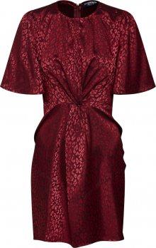 Fashion Union Koktejlové šaty \'SISSY\' merlot