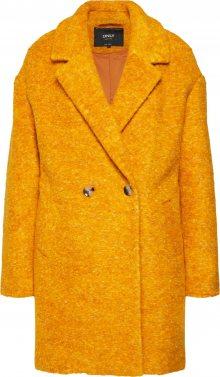 ONLY Přechodný kabát \'NINA CELESTE\' zlatě žlutá