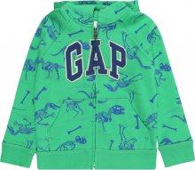 GAP Mikina \'Novelty Logo\' svítivě zelená