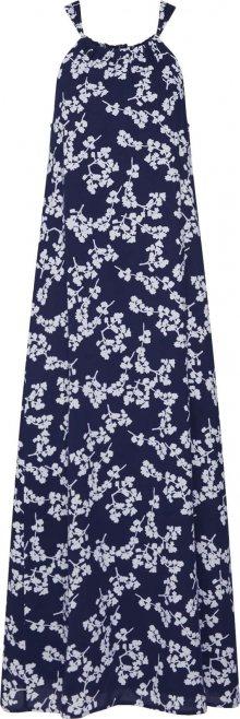STREET ONE Letní šaty noční modrá / bílá
