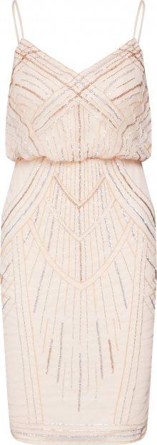 Lipsy Letní šaty tělová / starorůžová