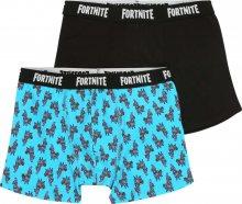 NAME IT Spodní prádlo \'FORTNITE\' modrá / černá / bílá