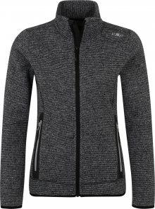 CMP Outdoorová bunda světle šedá / tmavě šedá