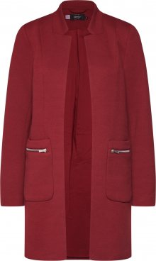 ONLY Přechodný kabát \'LINEA\' vínově červená