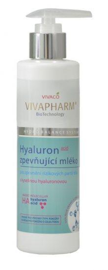 Vivaco Zpevňující tělové mléko s kyselinou hyaluronovou VIVAPHARM 200 ml