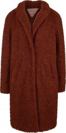 TRIANGLE Přechodný kabát okrová