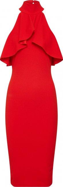 Missguided Koktejlové šaty červená