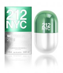 Carolina Herrera 212 New York Pills - EDT 20 ml