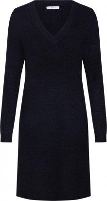 PIECES Úpletové šaty \'ELLEN\' černá