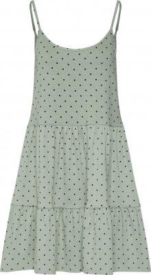 Envii Letní šaty zelená / černá