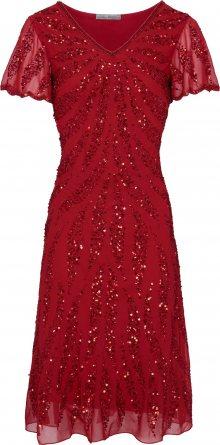heine Koktejlové šaty červená